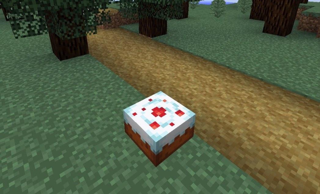 nowa tekstura tortu minecraft 1.13 cake