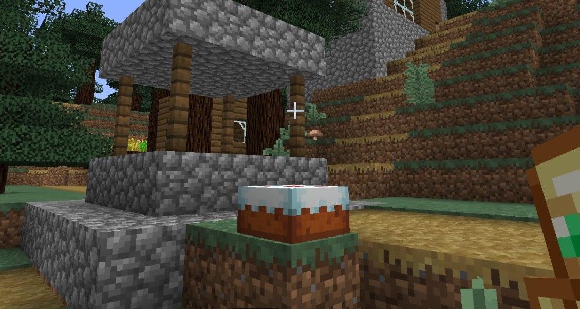 nowa tekstura tortu minecraft 1.13