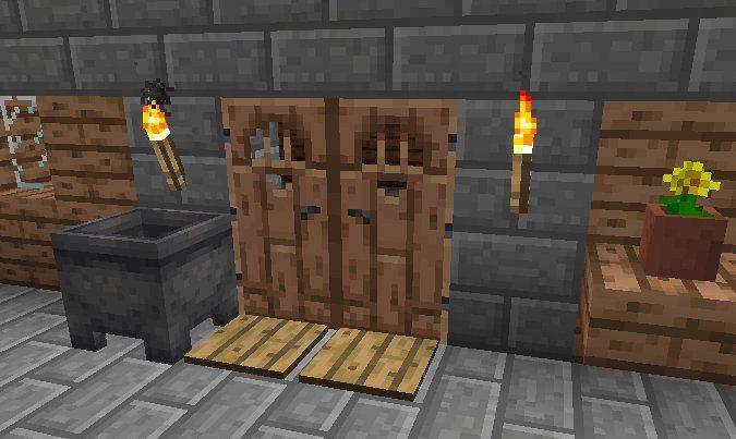 nowe tekstury blokow minecraft 1.13 drzwi