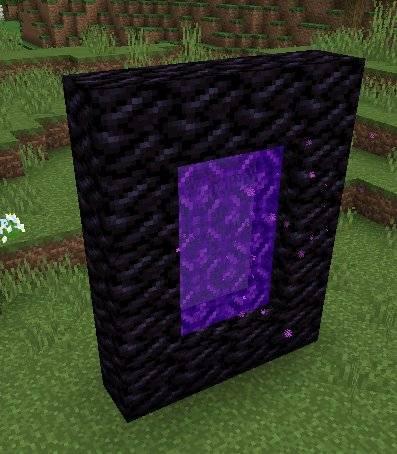 nowe tekstury blokow minecraft 1.13 portal nether obsydian