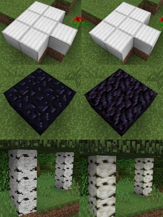 nowe tekstury blokow minecraft 1.13
