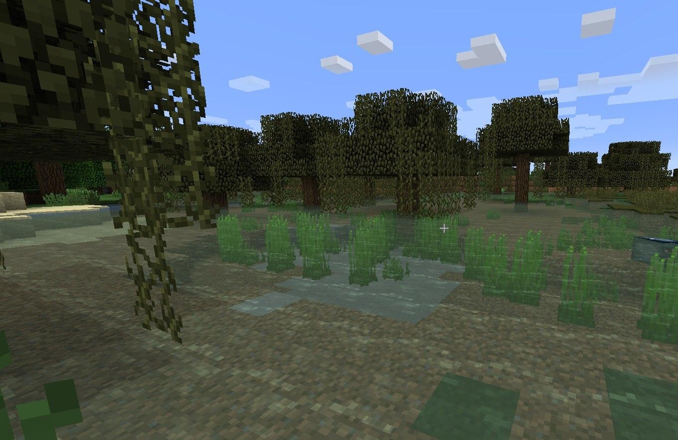 nowy kolor wody na bagnach minecraft 1.13