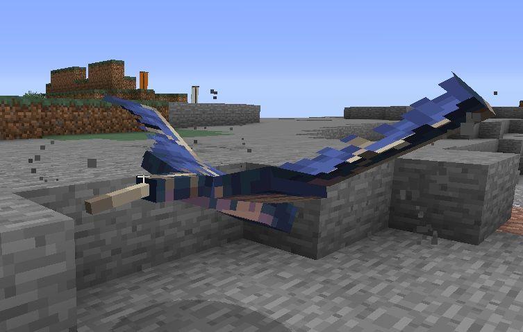 nowy model tekstura fantoma 2 minecraft 1.13