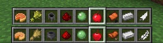 porownanie tekstury ikonek minecraft 1.13