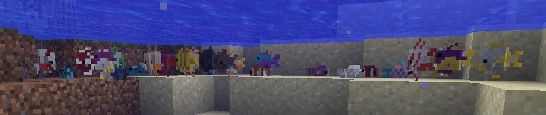 ryby tropikalne 3072 warianty minecraft 1.13