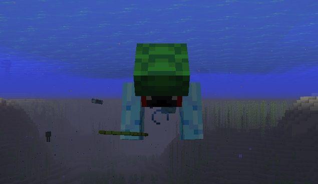 umiejetnosc plywania pod woda minecraft 1.13