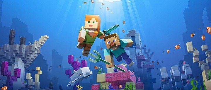 update aquatic minecraft bedrock edition