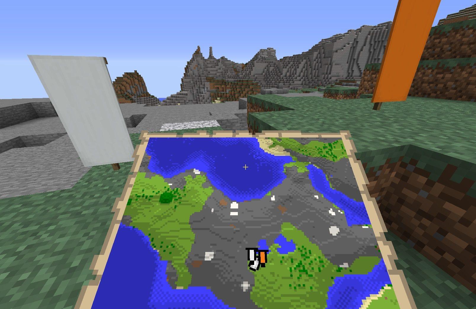 znaczniki banerow na mapie minecraft 1.13