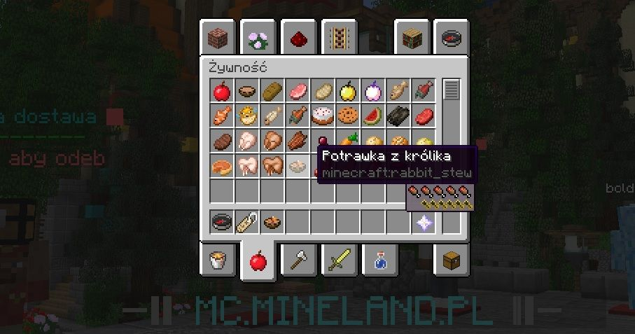 appleskin mod minecraft 1.13.2