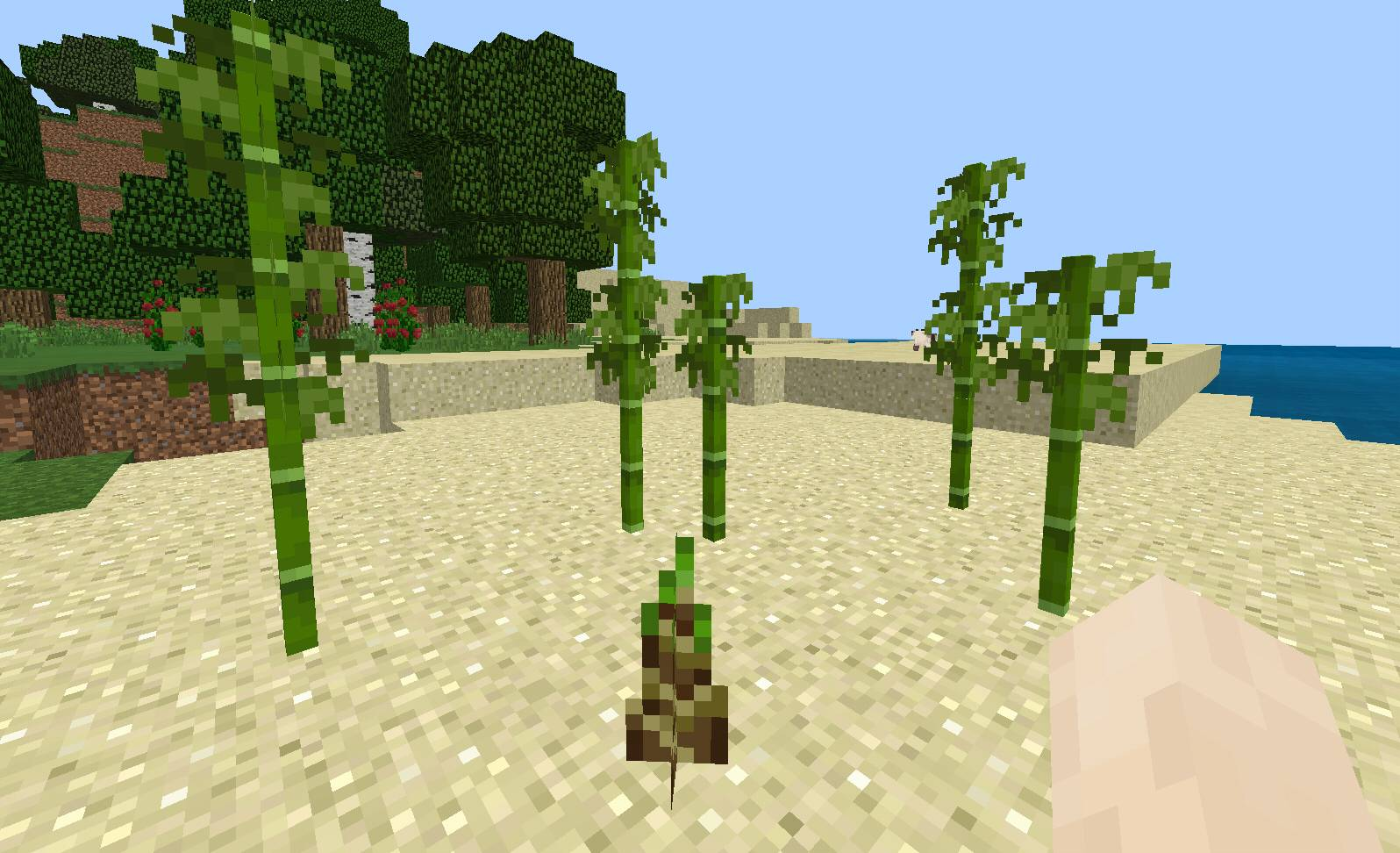 rosnacy bambus minecraft 1.14