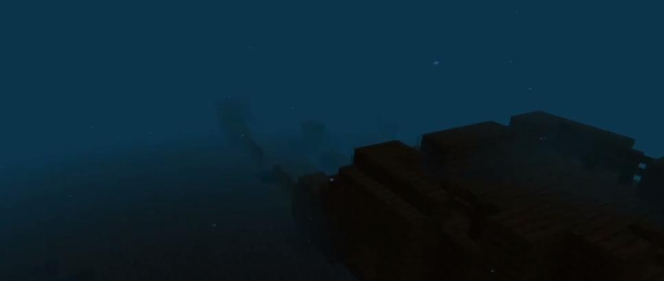 wraki statkow pod woda minecraft
