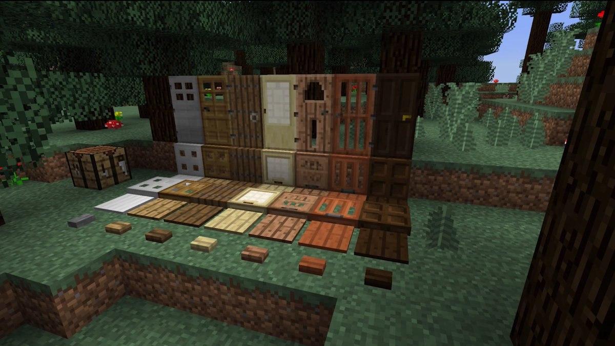 wszystkie rodzaje drewna dla przyciskow plyt drzwi zapadni