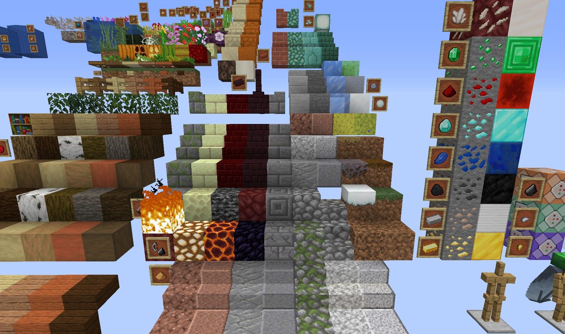 Faithful paczka tekstur 1.15.2 minecraft