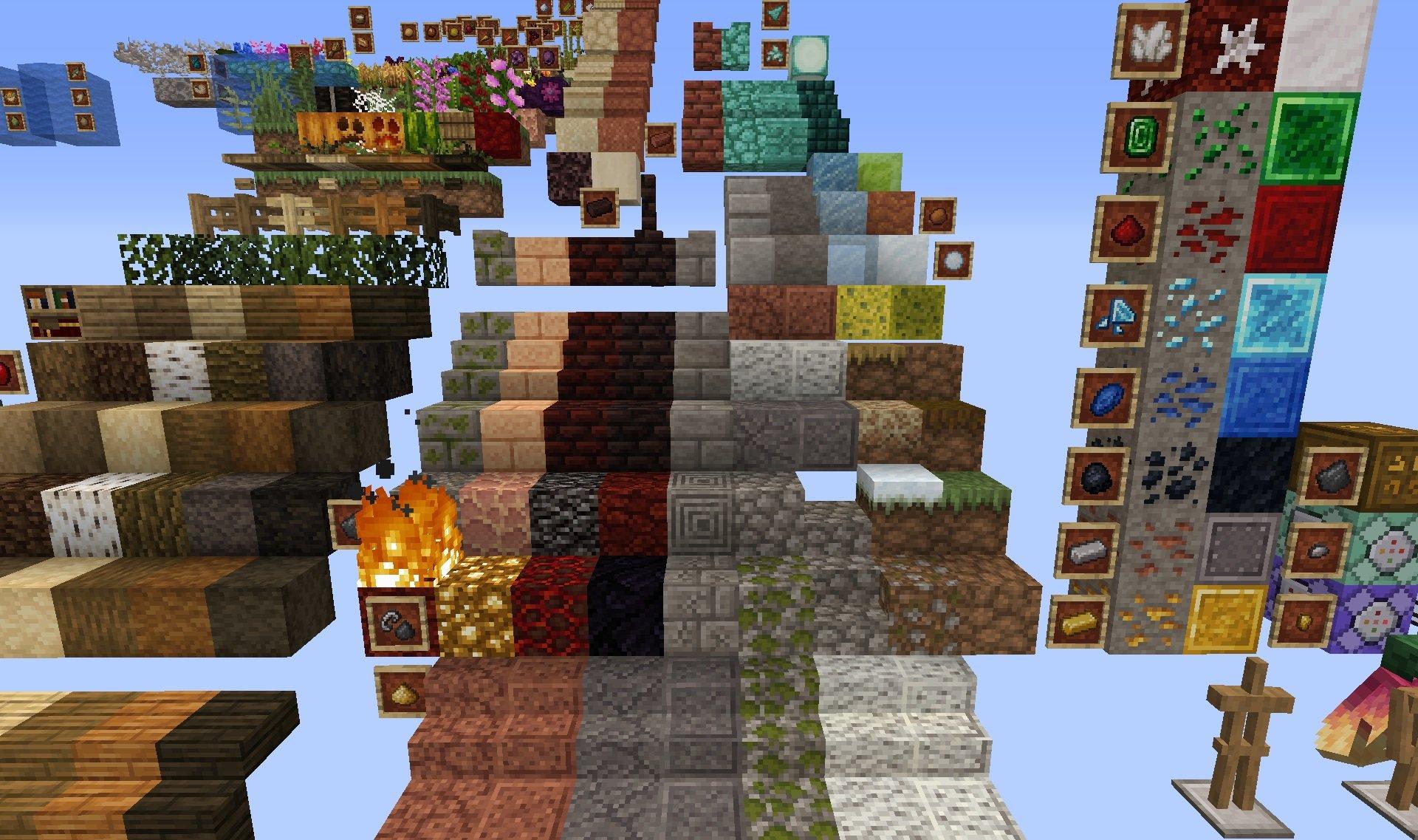 Jicklus paczka tekstur 1.15.2 minecraft