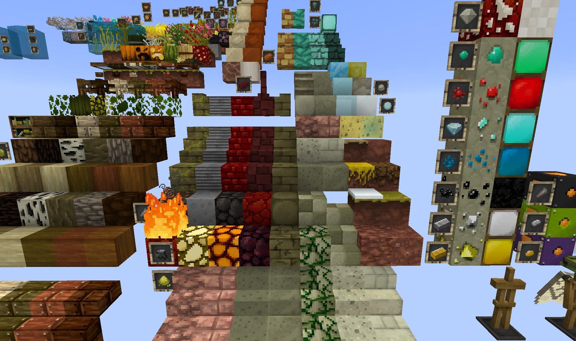 Jolicraft paczka tekstur 1.15.2 minecraft a