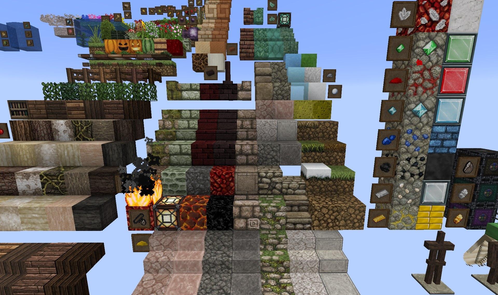 PixaGraph paczka tekstur 1.15.2 minecraft