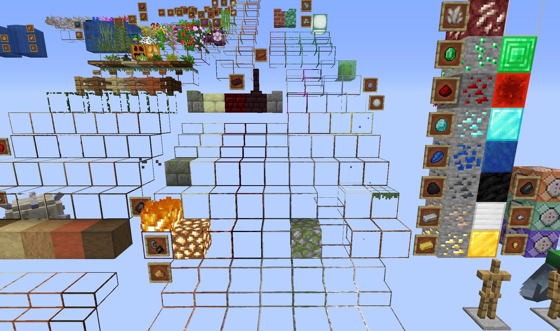 Xray Ultimate paczka tekstur 1.15.2 minecraft