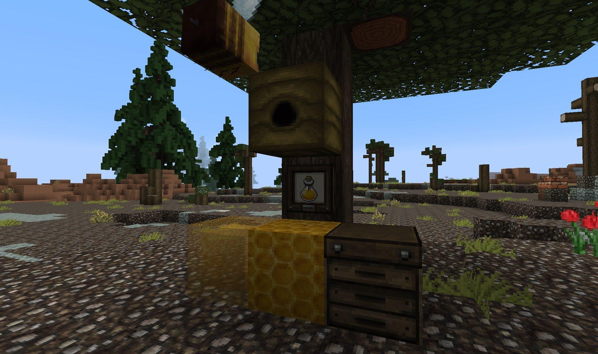 dokucraft 32x 1.15.2 buzzy bees update minecraft