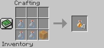 butelka miodu receptura minecraft 1.15