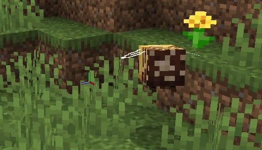 zapylona pszczola minecraft tekstura 1.15