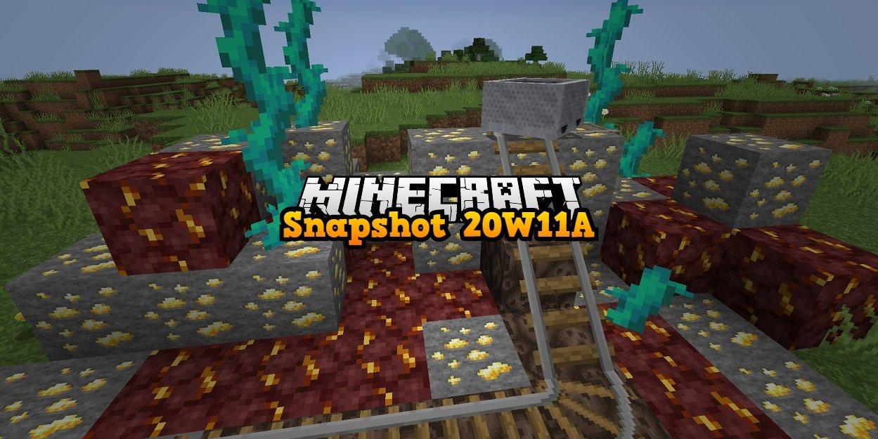 ruda zlota w netherze minecraft 1.16