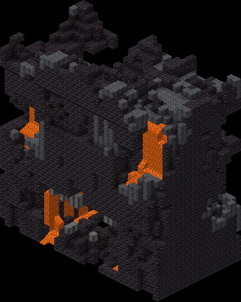 bastion remnant pozostalosci bastionu minecraft nether