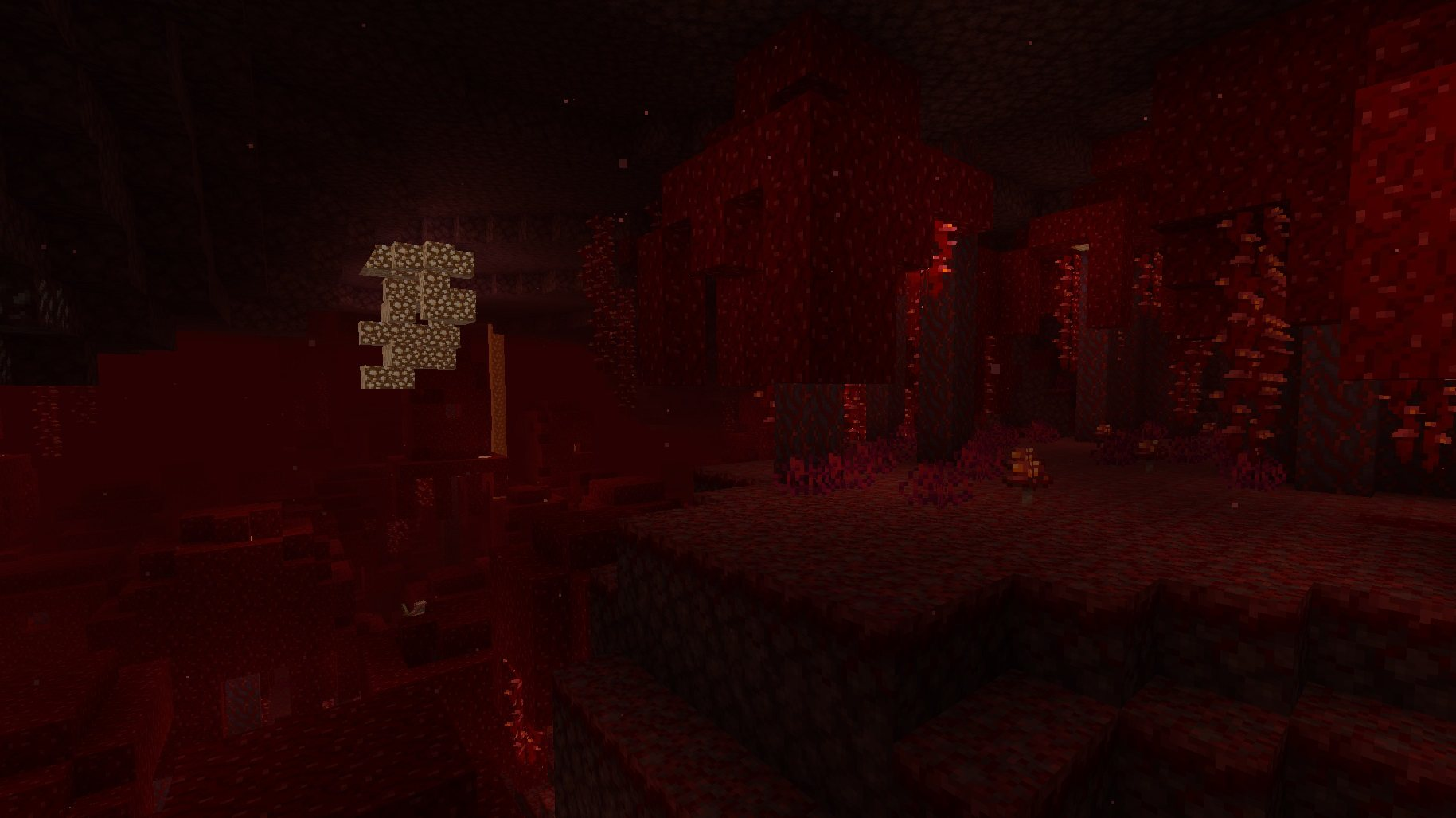 crimson forest szkarlatny las minecraft