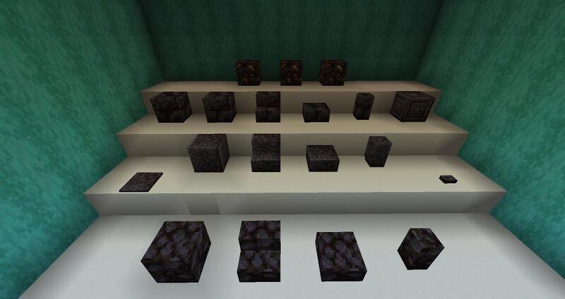 czernit minecraft blackstones 1.16 nether aktualizacja