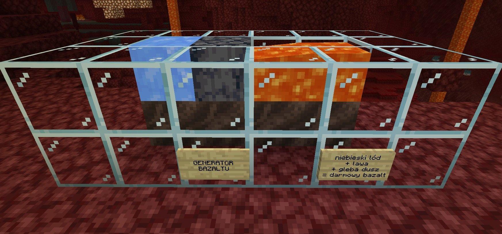 generator bazaltu minecraft 1.16
