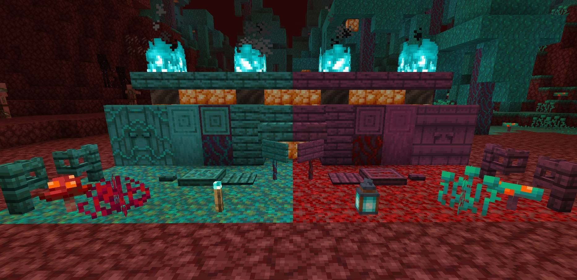 nether update all new blocks minecraft 1.16