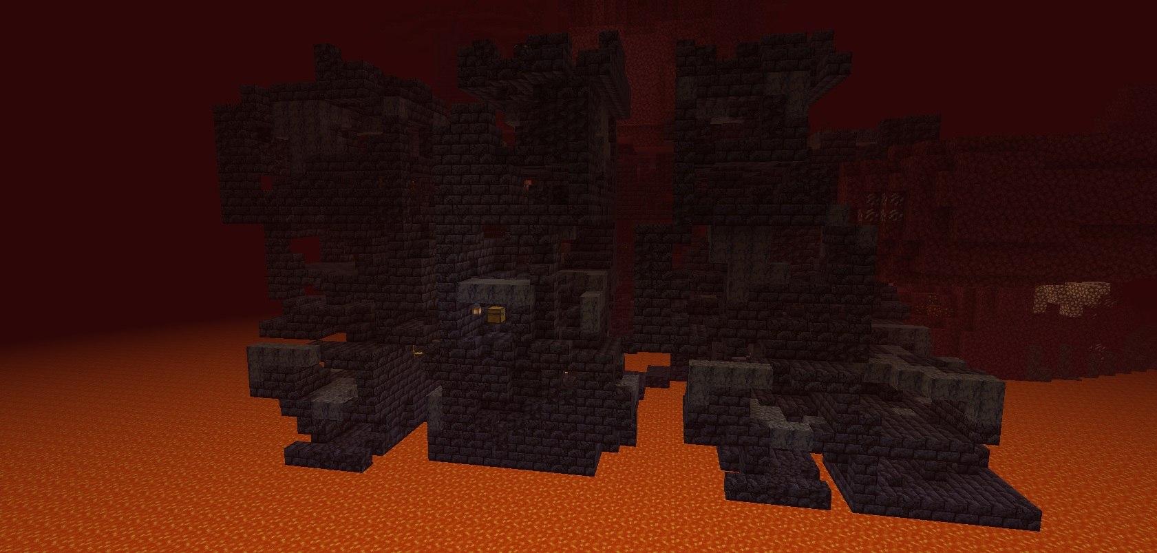 pozostalosci bastionow minecraft w netherze