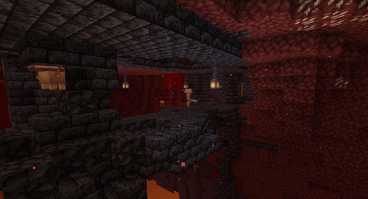 pozostalosci bastionu most minecraft