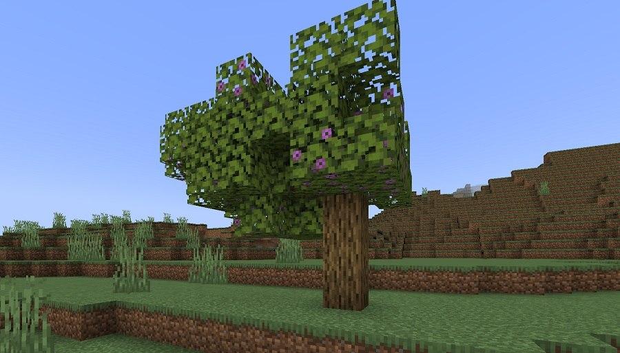 drzewo azali minecraft 1.17