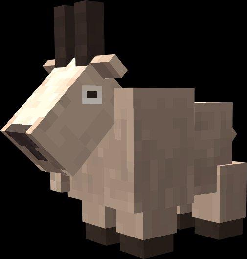 goat koza minecraft aktualizacja gor