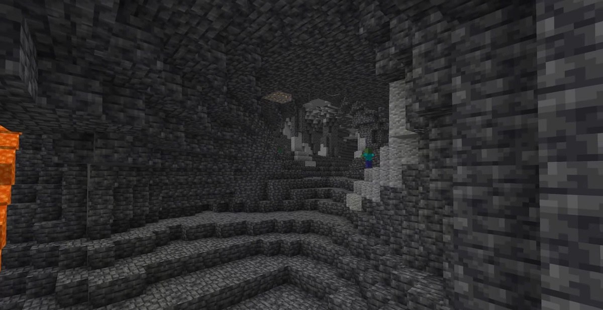 grimstone nowa generacja jaskin snapshot 21w07a minecraft