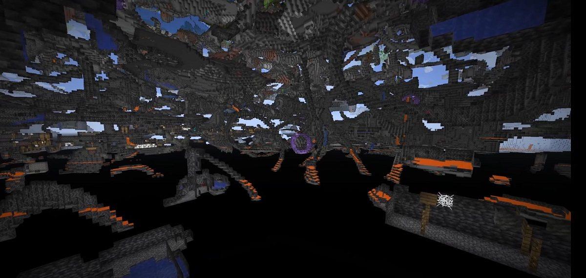 jaskinie makaronowe nudle cave minecraft 1.18 data pack