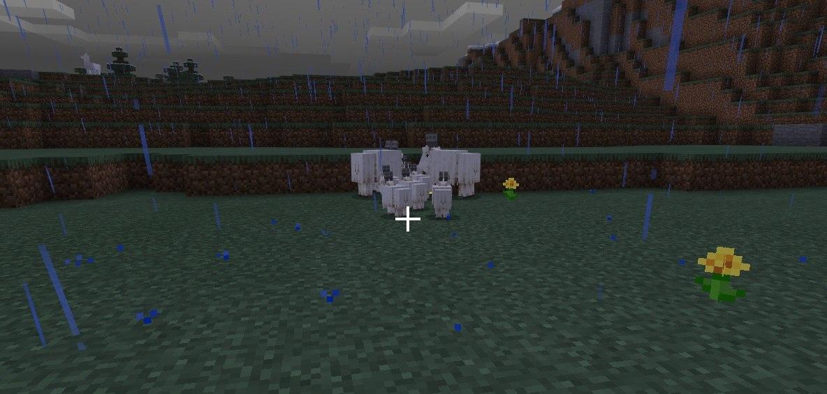 koza w minecraft beta mlode kozy z doroslymi