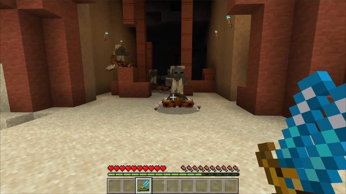 minecraft bedrock potwory