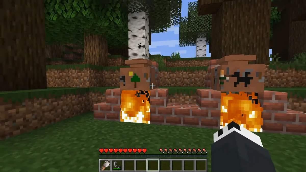 minecraft ceramika wypalanie
