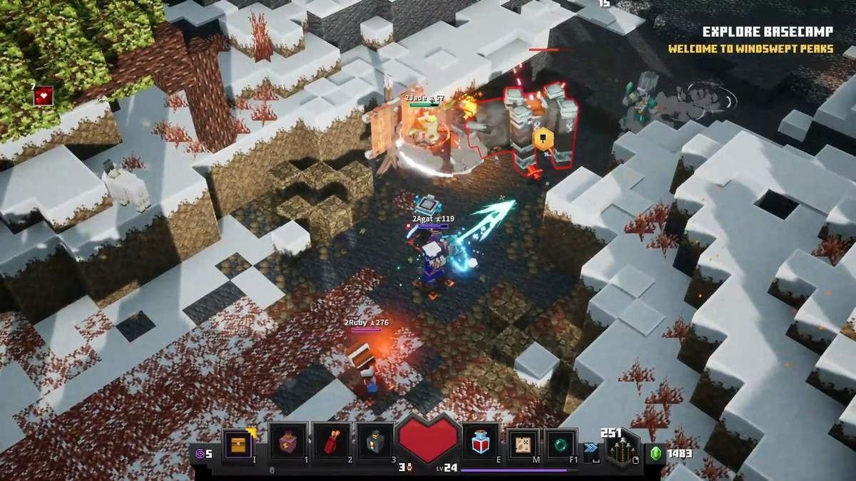 minecraft dungeons gameplay 4
