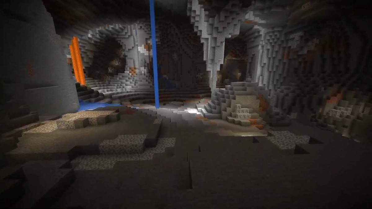 nowe generowanie jaskin 1