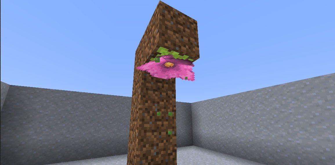 pylikwiat spore blossom snapshot 21w05a minecraft