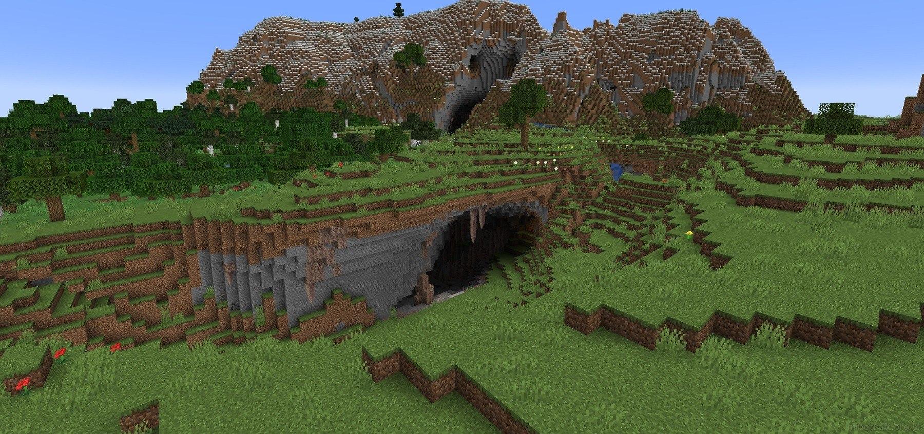 1.18 eksperymentalny snapshot gory jaskinie teren generator img1