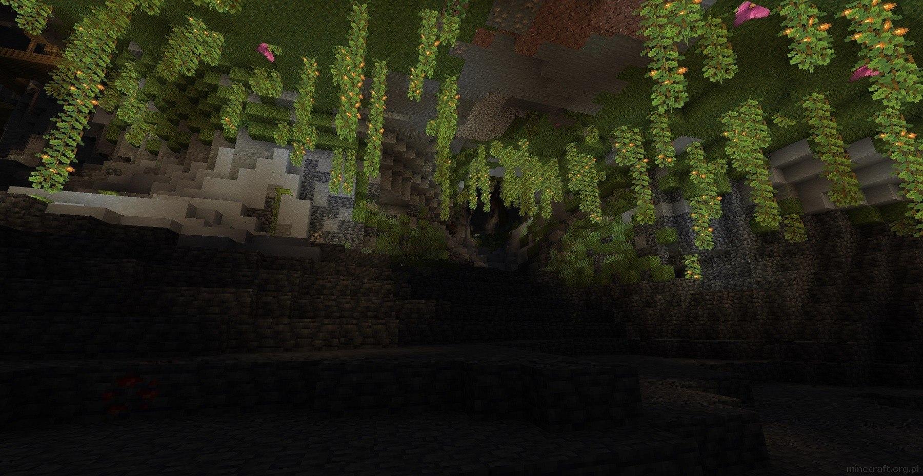 1.18 eksperymentalny snapshot gory jaskinie teren generator img9