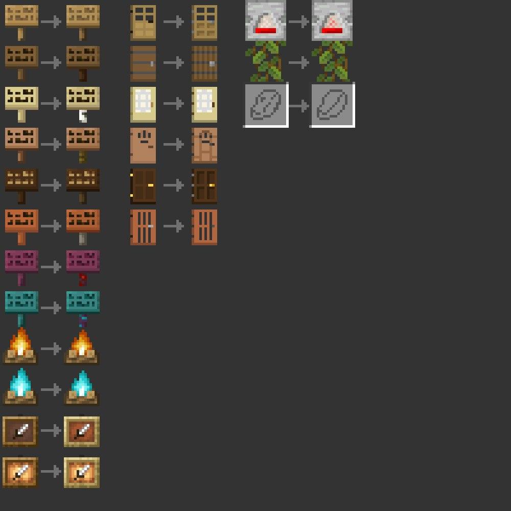 oprawione tekstury 1.18 snapshot 21w41a