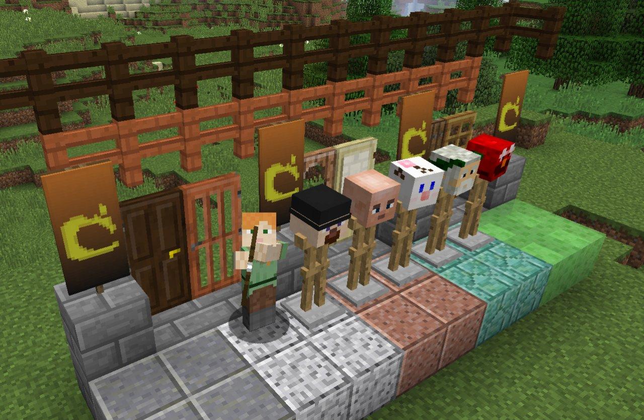 Minecraft 1.8 grafika