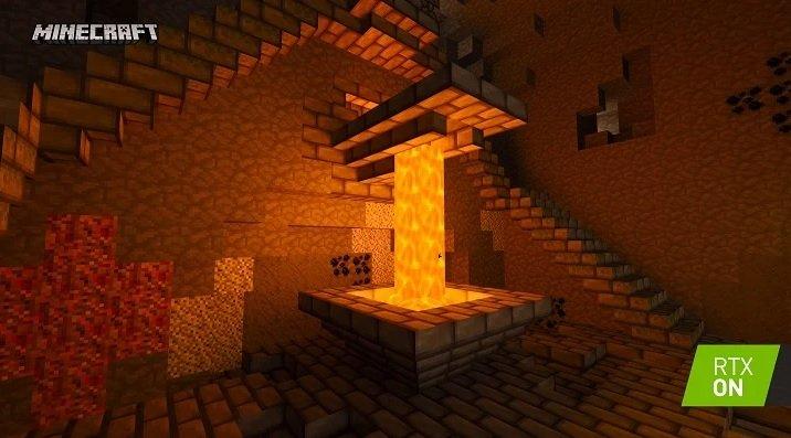 the dark village RTX minecraft