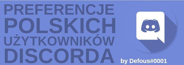 preferencje uzytkownikow discord polska infografika