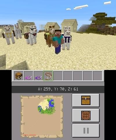 aktualizacja minecraft nintendo 3ds img 1