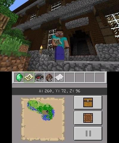 aktualizacja minecraft nintendo 3ds img 2